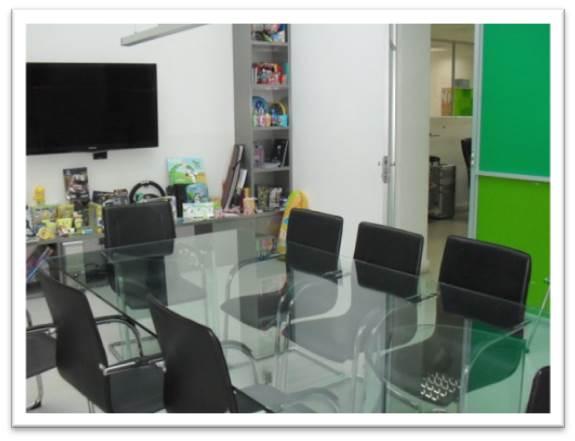 Oficina Amoblada - Ciudad empresarial- 542m2